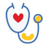 Medical care icon.